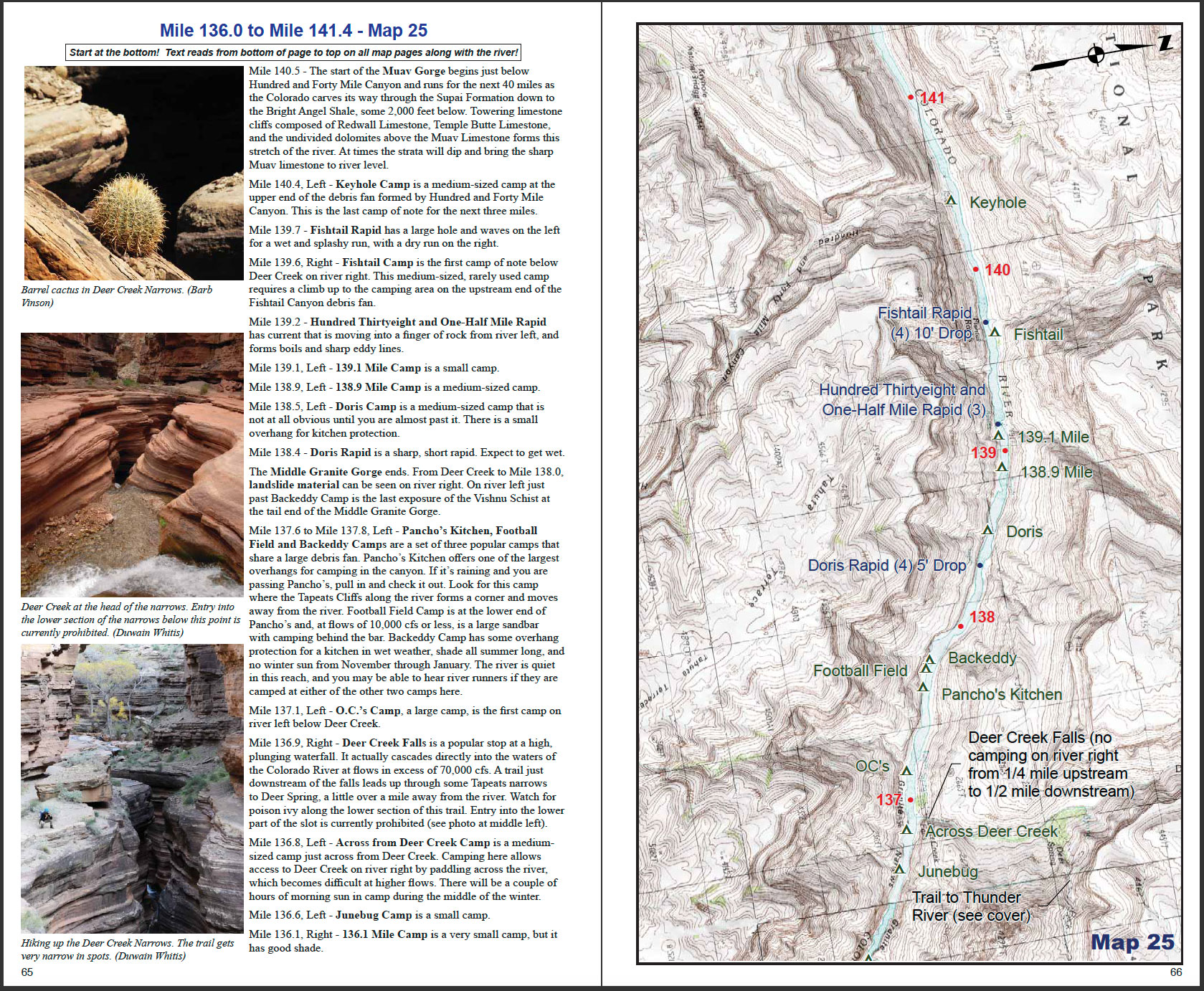 RiverMaps Grand Canyon Guidebook SAMPLE O